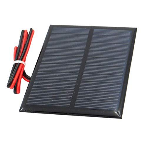 Fenteer Kleine Solarpanel Solarmodul Solarzelle Polykristallin DIY Solarpanel - F 5V 100x70mm