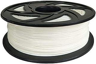 PLAホワイトフィラメント1.75mm 3D プリンター フィラメントPLA 1KG スプール あらゆる3D プリンターに対応 3D造形材料素材 PLA (ホワイト)