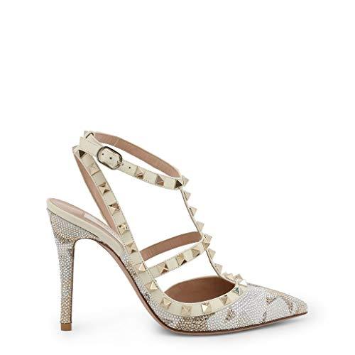 Valentino Tacone LW2S0393CTR Mujer Color: Blanco Talla: 39.5