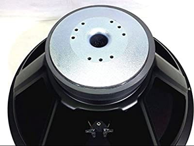 """Replacement Speaker For Mackie SRM-1801 & SRM-1850 Sub-Woofer 18"""" Speaker 8 Ohms by LASE"""