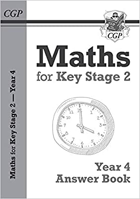 New KS2 Maths Answers for Year 4 Textbook (CGP KS2 Maths) by Coordination Group Publications Ltd (CGP)