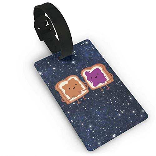 Peanut Butter and Jelly Luggage Tag Label Suitcase Tags Bag