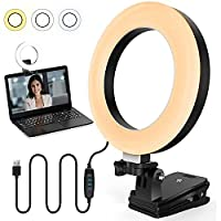 Deals on Jaliell Circle Ring Zoom Video Conference Lighting Kit