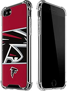 Skinit Clear Phone Case for iPhone 7 - Officially Licensed NFL Atlanta Falcons Zone Block Design