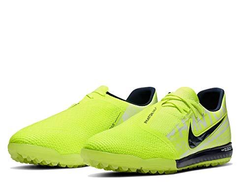 Nike Zoom Phantom Venom PRO Tf, Scarpe da Calcio Unisex-Adulto, Multicolore Giallo Fluo/Ossidiana (Volt Obsidian Volt 717), 41 EU