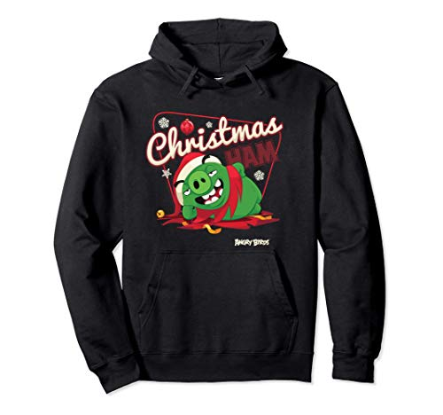 Angry Birds Christmas Pig Offizielles Merchandise Pullover Hoodie