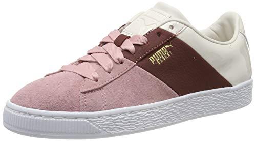 Puma Basket Remix Wn's, Zapatillas Deportivas para Mujer, Rosa (Bridal Rose-Fired Brick), 40 EU