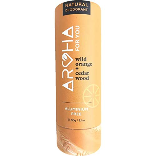 Aotearoad, Desodorante natural eficaz, naranja silvestre, libre de bicarb, vegano, empaquetado ecológico, hecho a mano en NZ