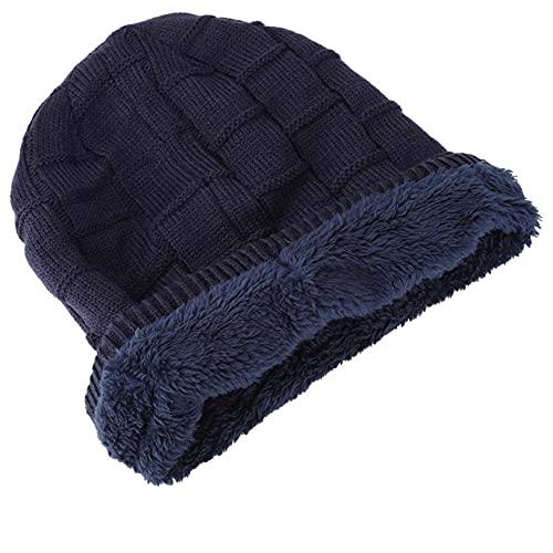 DAUERHAFT cálido BT Music Hat Wireless BT Headset Hat Dispositivos Bluetooth(Blue)