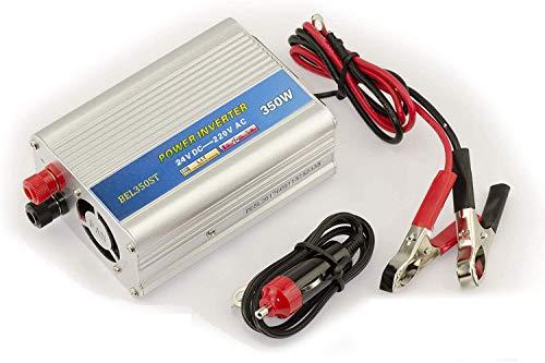 KALEA INFORMATIQUE Conversor de tensión de 24 V a 220 V (inversor CA – CC) – Potencia 350 W (600 W en Cruce).