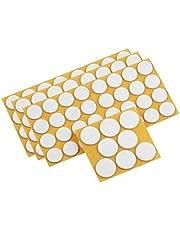Metafranc Vilten glijders assortiment 104-delig - zelfklevend - wit - effectieve bescherming van uw meubels & stoelen/meubelglijderset voor gevoelige vloeren/stoelglijders/vloerglijders / 645296