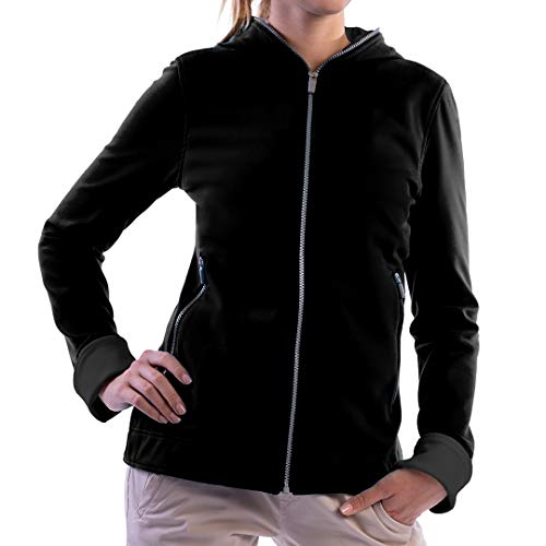 SCOTTeVEST Women's Chloe Glow Travel Hoodie | 18 Pockets | Anti-Pickpocket