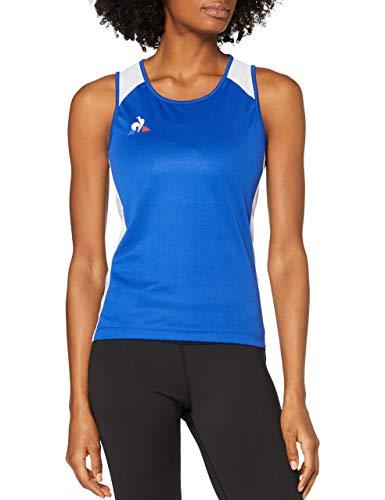 Le Coq Sportif Running Débardeur W Camiseta de Tirantes, Mujer, Cobalt, XL