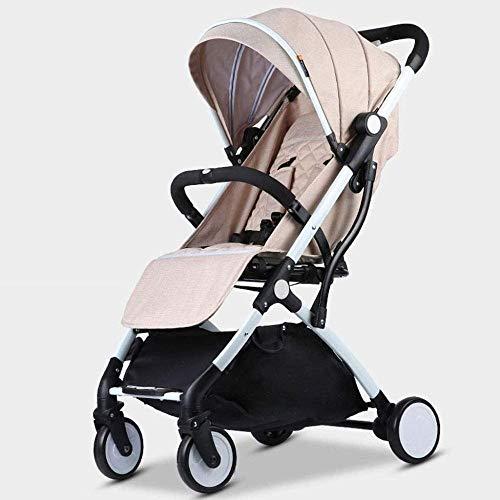 Landaus Poussette Transport, Multifonction Portable Poussette Transport léger Voyage Poussette, Shopping Fournitures pour bébé