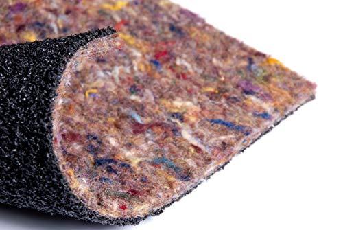 Flooring Online UK Super Velvet - Felt and Rubber, Acoustic Carpet Underlay