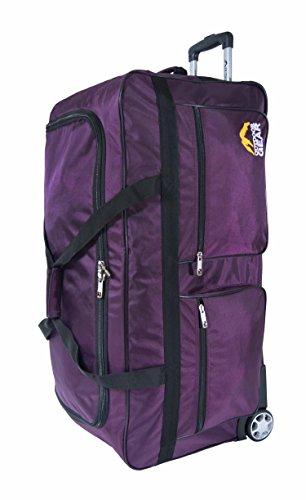 """Outdoor Gear-Borsone Trolley da viaggio per bagagli per le vacanze, 86,36 (34 cm, taglia XL """" Nero viola X-Large 34"""""""