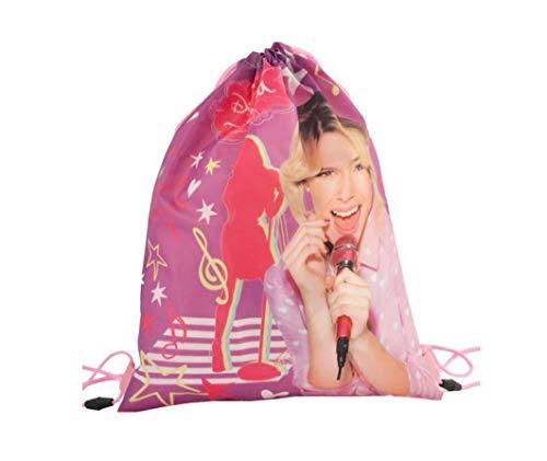 Disney Violetta Turnbeutel Schuhbeutel Kindergarten Rucksack Tasche 40 x 30 cm
