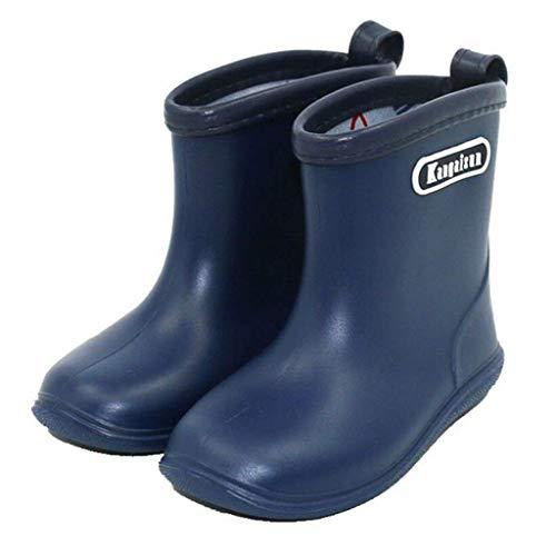 Kleinkind Baby Kinder Regen Stiefel,Soft Durable PVC Regenschuhe,Wasserdichte rutschfeste Gummistiefel Wellington