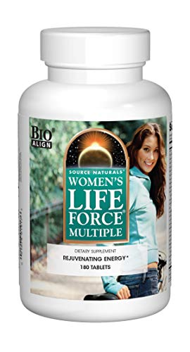 Source Naturals Women's Life Force Multiple, 180 Tablets