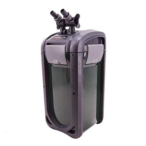 AquaOne Aquarium Außenfilter DGN-520B bis 1000l Aquarien regelbar automatische Entlüftung +UVC