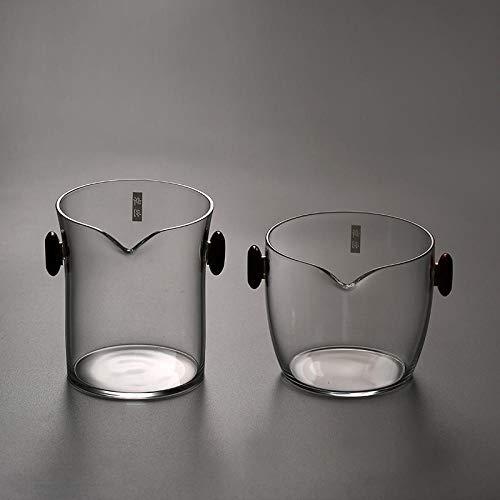 Glaseres Creative Fair Cup Style Japonais Pyrex Fair Cup-Wide Bouche (Section Haute)