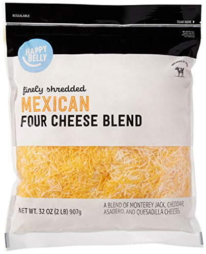 Amazon Brand - Happy Belly Shredded Mexican Four...