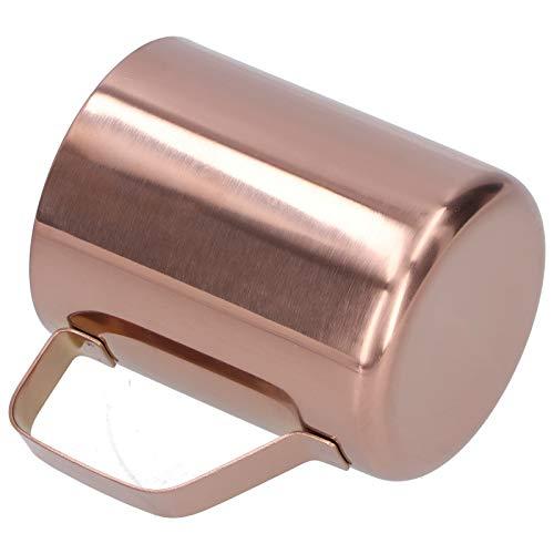 Restaurante durable, seguro de la barra de la taza de la bebida de la taza de la cerveza de la taza de café para el hogar(Rose gold)