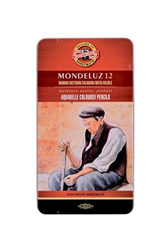 Koh-I-Noor Mondeluz Aquarell-Farbstifte (12 Stück)