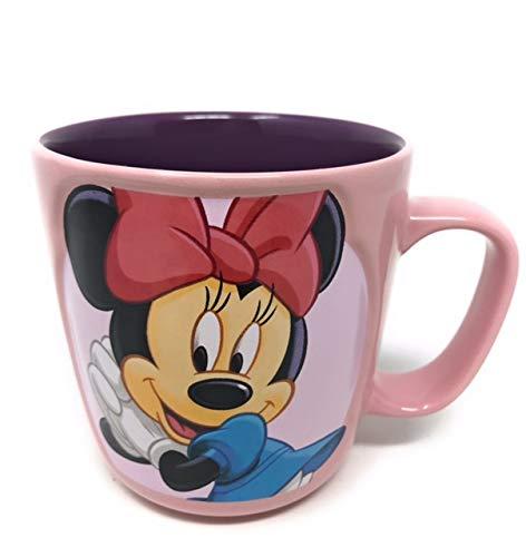 Disney Charming Minnie Mouse 3D-Kaffeetasse, Keramik, Rosa