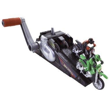 HOT WHEELS HYPER WHEELS Motocross OR CROTCH ROCKET RACING motorcycles- ASSORTED COLORS SENT AT RANDOM