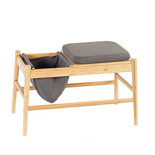 N/Z Living Equipment Massivholz Sofa Beistelltisch Einfacher Magazintisch Nachttisch mit Stauraum Lazy Table Laptop Tisch