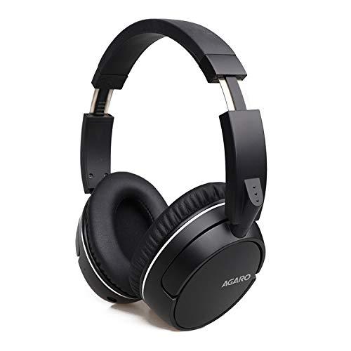 AGARO Aspire Over-Ear Bluetooth Headphones with Mic (Black)