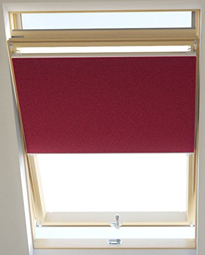 Vidella Dachfenster Thermoplissee thermolux universal passend 67 cm, rosa / fuchsia, HCB-8 67