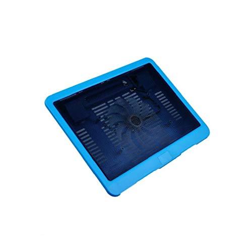 Radiador portátil 14-15 pulgadas del ordenador portátil del ventilador del ordenador portátil ventiladores externos Notebook Cooling Pad Notebook accesorios color al azar