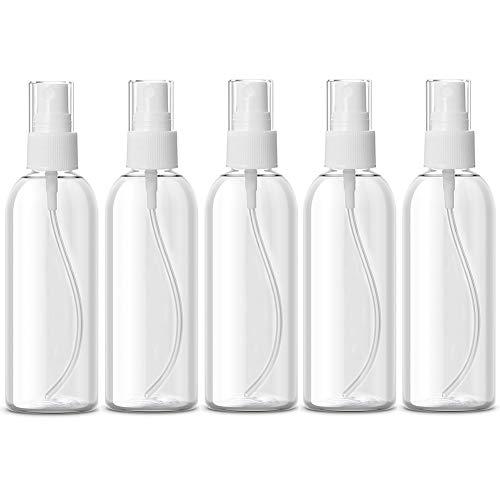 Jojobnj Flacon Vide Voyage,5pcs Vaporisateur Vide 100ml,Spray Vide,Atomiseur parfum,Pulvérisateurs Atomiseur en Réutilisables