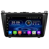 TAFFIO® Android 9.0 Autoradio 9' Touchscreen Bluetooth GPS 3D Navi USB SD WiFi 4GB RAM + 64GB ROM für Mazda 6
