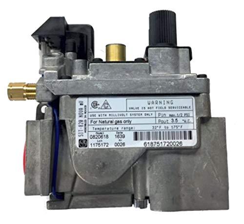 Fireplace Valve Gas Nova SIT 820.618 Natural Gas Stove Valve NAT FCP0820618 -  Fireplace Classic Parts