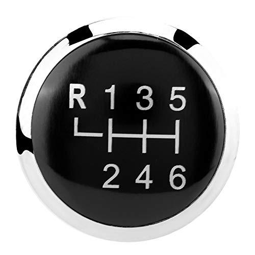 Schaltknauf Kappe, Auto Schaltknauf Kappe Abdeckung 6-Gang Schaltknauf Stick Cover Emblem Badge Cap Trim Gangschalt Kopfverkleidung für T5 T5.1