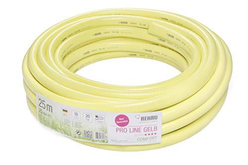 REHAU Gartenschlauch PRO LINE 1 Zoll 25m: umweltfreundliche Materialien, schadstofffrei, gutes Handling