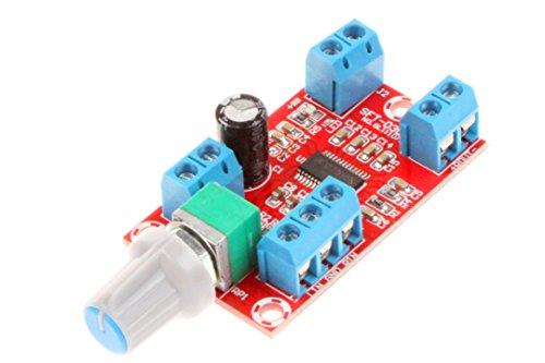 NOYITO Mini High Fidelity 2.0 Dual Channel Digital Amplifier Board Module Class D 12V 24V 30W+30W Post Stage Digital Amplifier Board