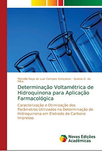 Determinação Voltamétrica de Hidroquinona para Aplicação Farmacológica