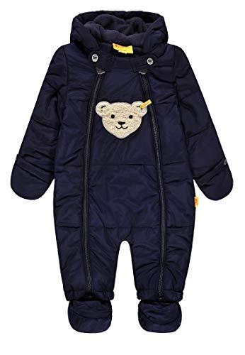 Steiff Jungen Schneeoverall Schneeanzug, Blau (Marine|Blue 3032), 98