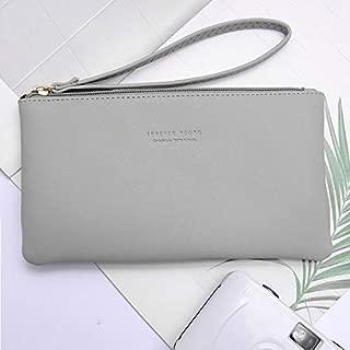 iBag's Women Wallet Long Fashion Zipper Clutch Hand Bag 2019 New Mobile Phone Bag Card Holder Coin Purse Thin Wallet