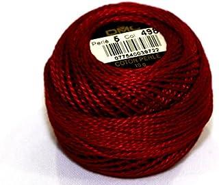 DMC Cotton Perle Thread Size 5 498 - per 10 gram ball
