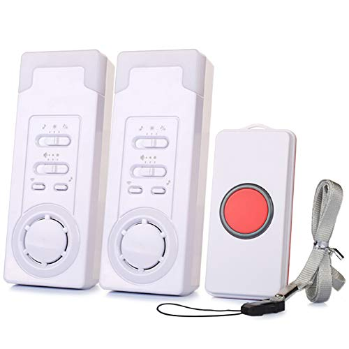 Smart Caregiver Wireless Caregiver Personal Pager System Emergency Alarm Call Button Nurse Alarm System - 5ft Range