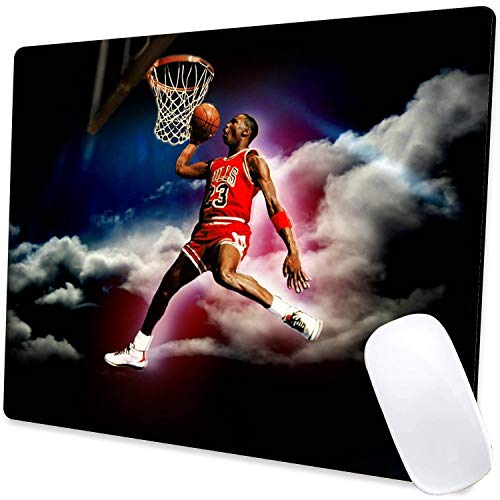 Gaming Mouse Pad,Jordan 015 Mouse Pad Non-Slip Rubber Base Mouse Pads for Computers Laptop Office,9.5'x7.9'x0.12' Inch(240mm x 200mm x 3mm)
