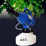 WLD Ulf Eléctrica Pulverizador, 4.5L 1400W Portátil Ultra-Baja Capacidad Ulf Nebulizador Purificador de Aire, Puede Utilizarse en Interiores, Coches, Oficinas, Azul,Azul