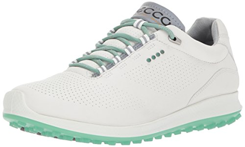 ECCO Damen Women's Golf Biom HYBRID 2 Golfschuhe, Weiß (White/Granite Green), 37 EU