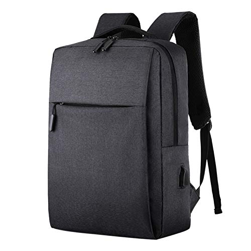 Ghosthunter Backpacks Rucksack für Laptop, USB, Diebstahlschutz, für Männer, Freizeit, Schwarz - Schwarz - Größe: Einheitsgröße