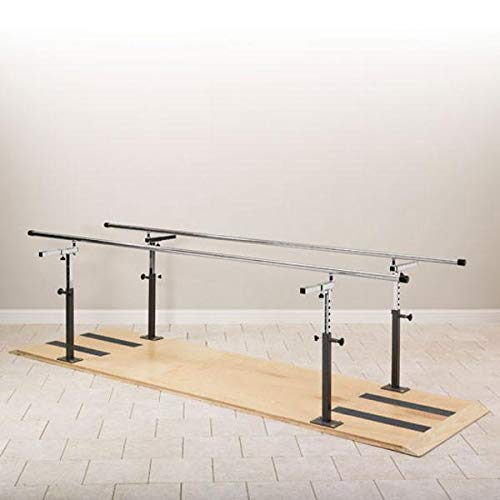Physical Therapy Platform Mounted Parallel Bars 10
